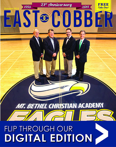 Who's on our October cover? Mt. Bethel Christian Academy!