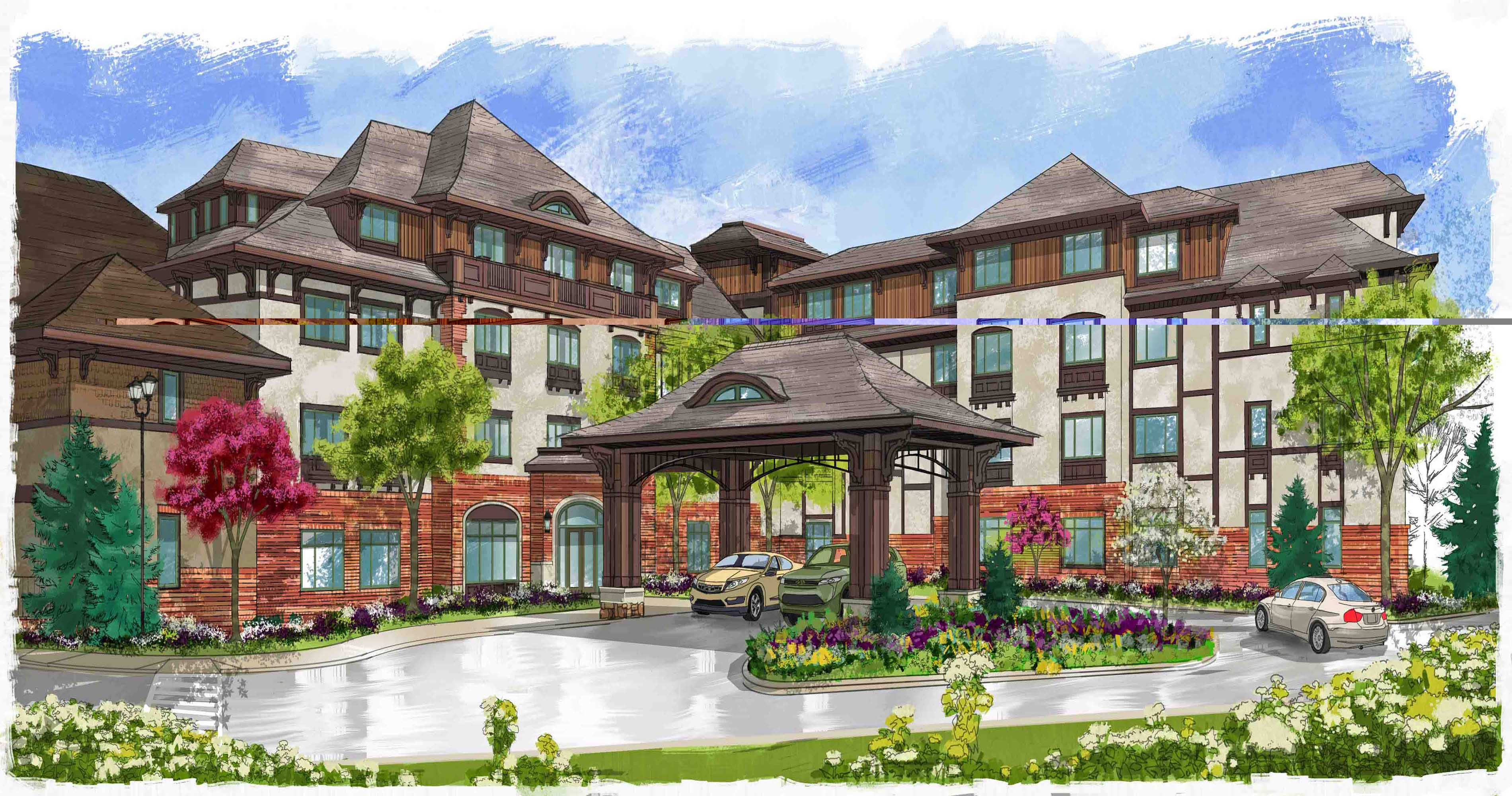 Village Hotel on Biltmore Estate will begin accepting reservations on March 2