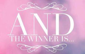 Sarah Armer is The Winner of This Week's Facebook Friday Freebie!!