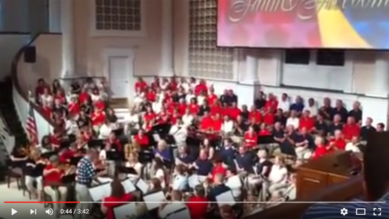 "VIDEO OF THE WEEK: JFBC ORCHESTRA'S ""AN AMERICAN CELEBRATION"""