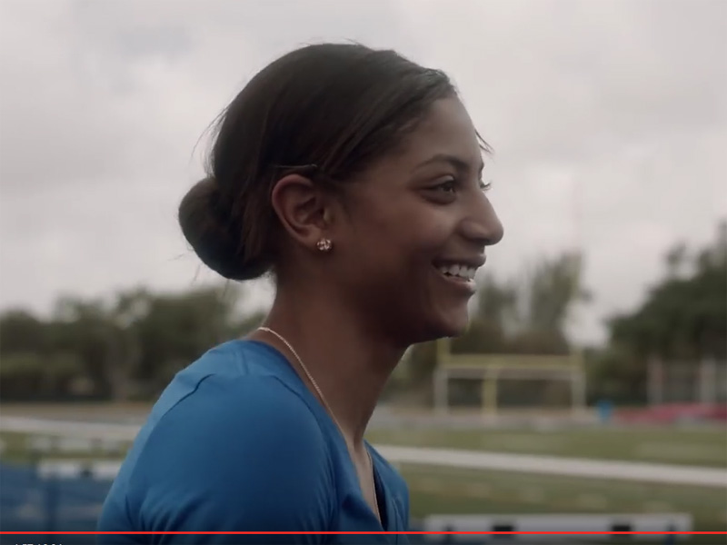 VIDEO OF THE WEEK: EAST COBB'S TIA JONES FEATURED IN OLYMPIC COMMERCIAL