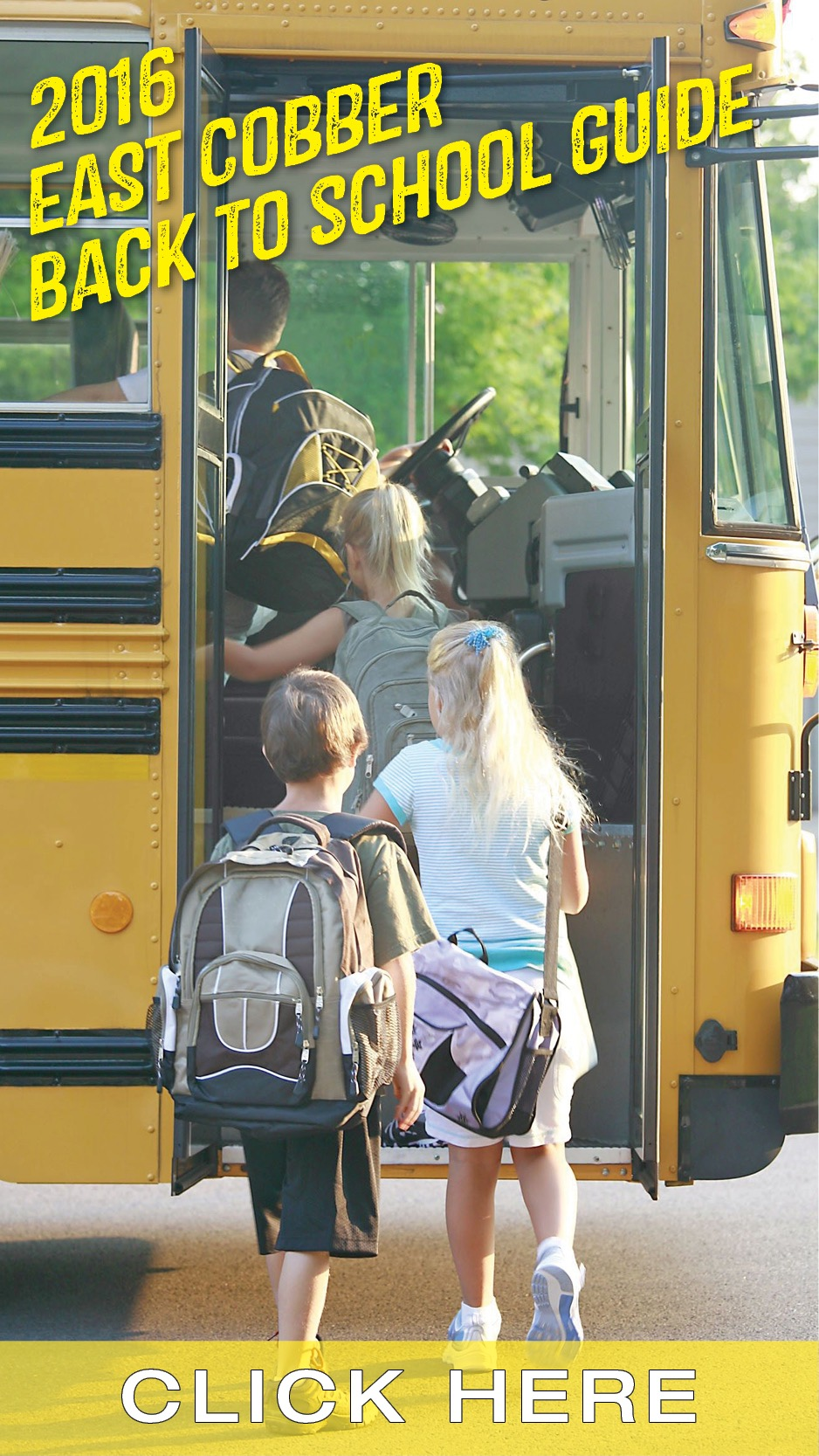 Download the 2016 East Cobber Back to School Guide