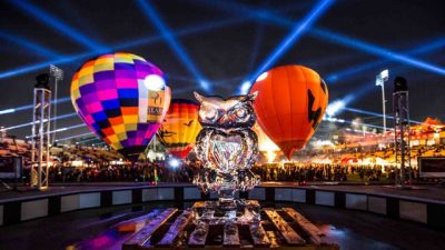 Owl-O-Ween Hot Air Balloon Festival's Triumphant Return