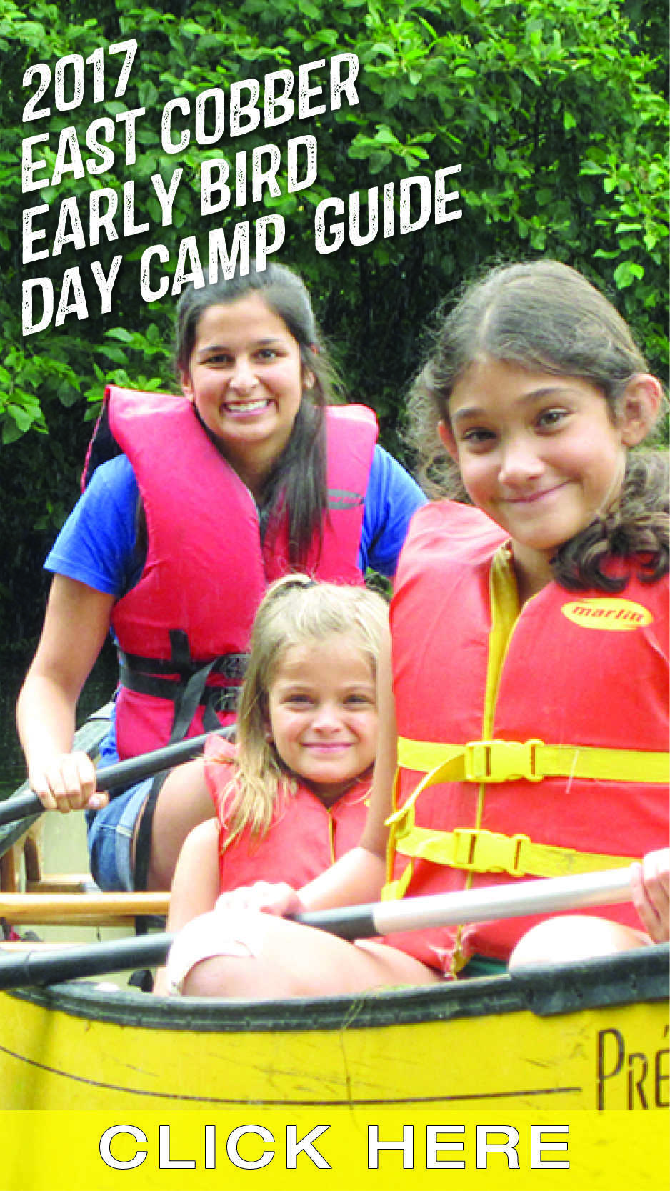 Download the 2017 East Cobber Early Bird Day Camp Guide