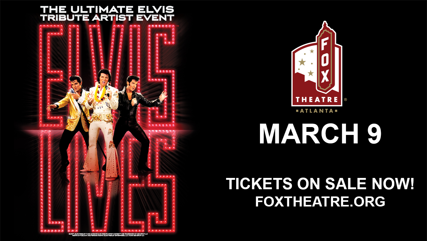Facebook Friday Freebie! Win a Pair of tickets to Elvis Lives Tour at the FOX Theatre!