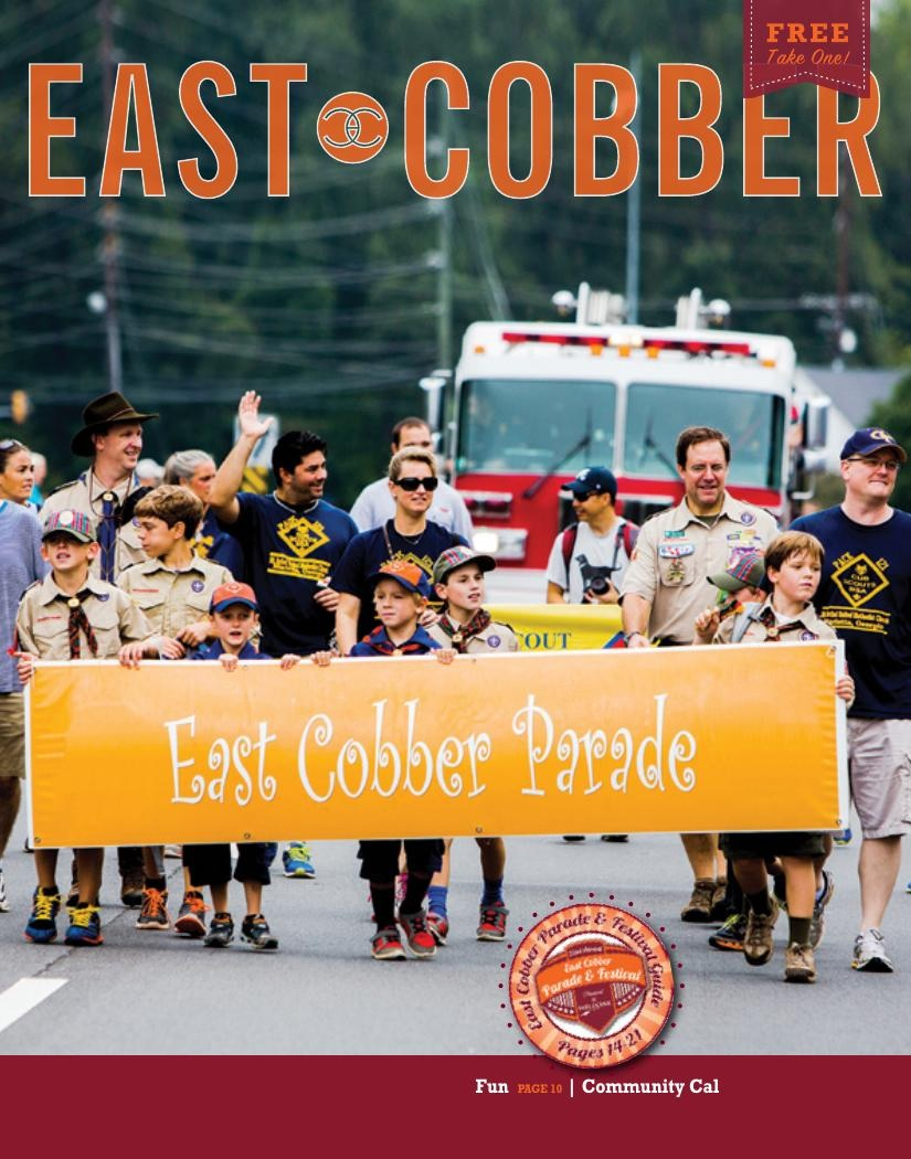 Look Who's on the September Cover: Cub Scout Pack 121!