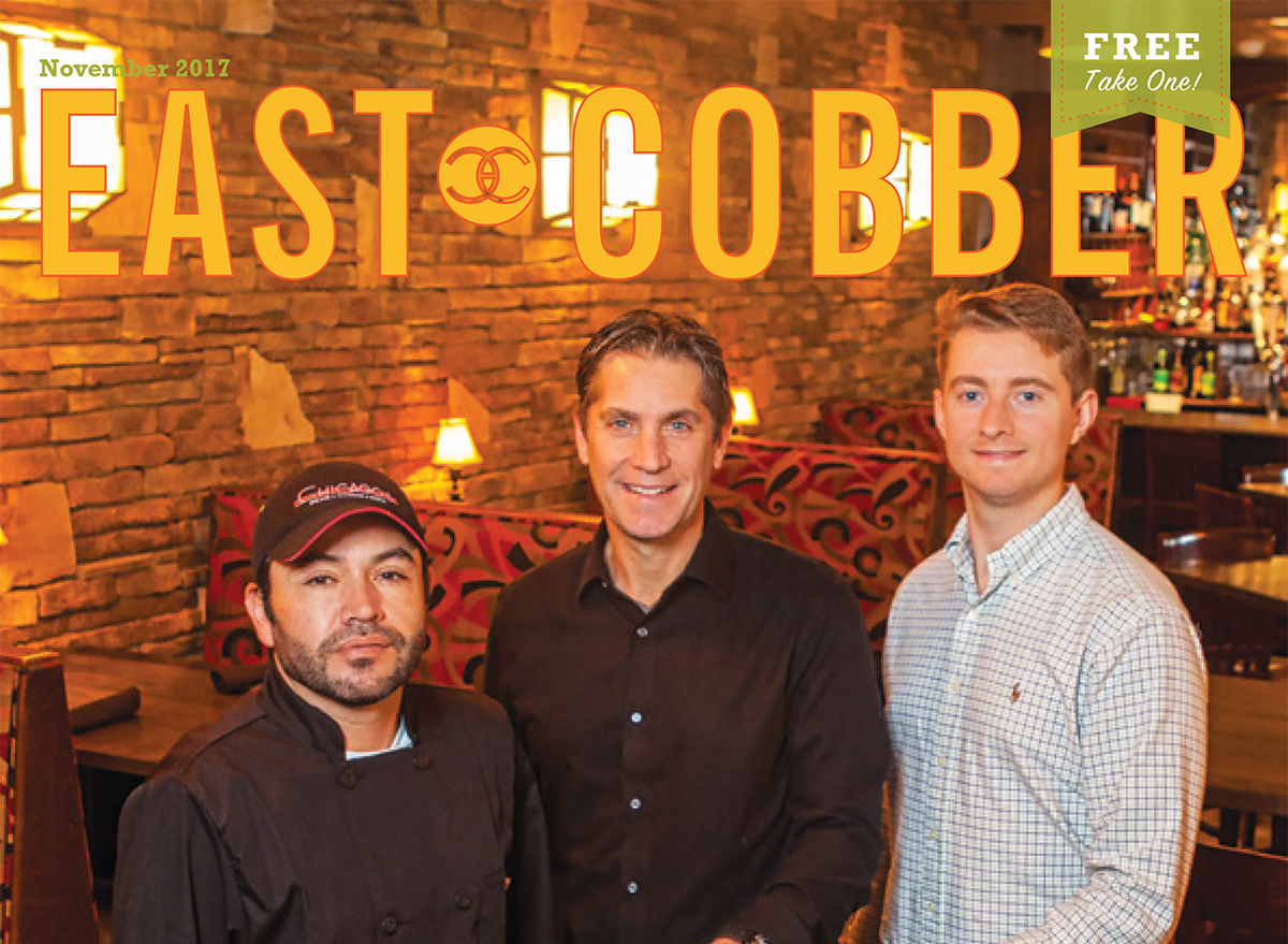Look Who's on the November Cover: Chicago's Steak & Seafood's Owners and Executive Chef!
