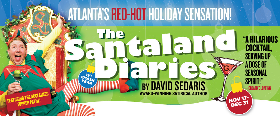 *Facebook Friday Freebie! Win 4 Tickets to The Santaland Diaries !