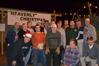 KNIGHTS OF COLUMBUS COUNCIL #8376 HEAVENLY CHRISTMAS TREES SALE