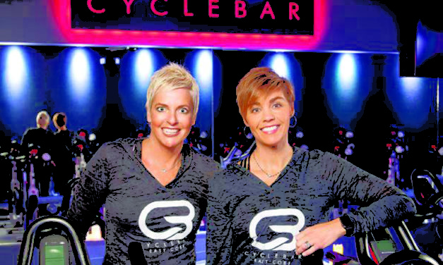 Look Who's on the Front Cover of the January Issue: CycleBar Owners Lee Oesterling and Kirsten Rickers