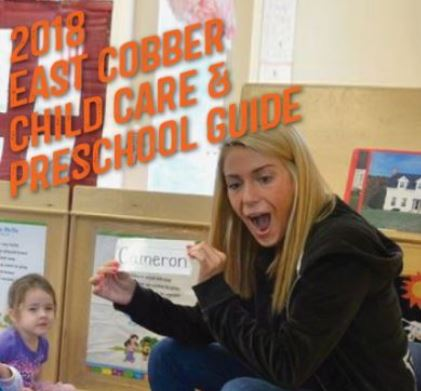 2018 EAST COBBER Child Care and Preschool Guide Featured in February Issue