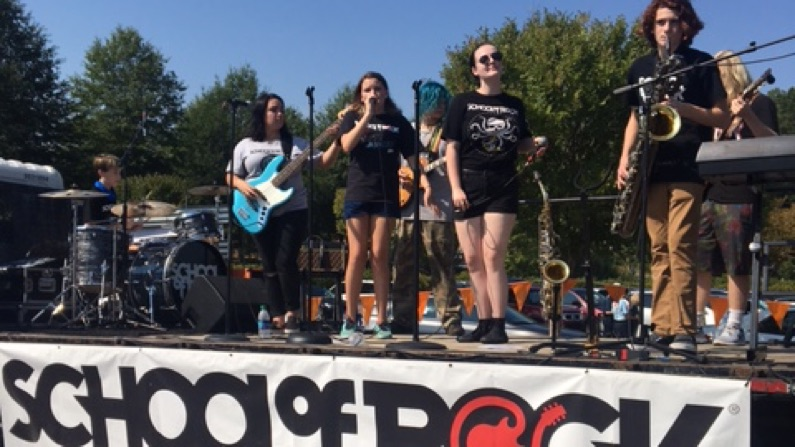 Parade and Festival School of Rock