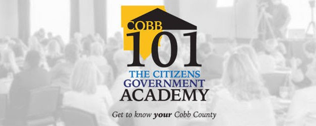 Register for Cobb 101 Academy and Learn About County Operations
