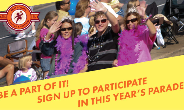 BE A PART OF IT! SIGN UP TO PARTICIPATE IN THIS YEAR'S PARADE