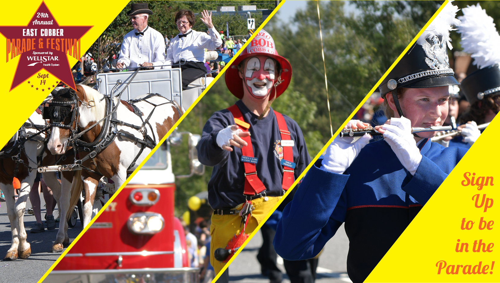 BE A PART OF IT! SIGN UP TO PARTICIPATE IN THIS YEAR'S PARADE 1