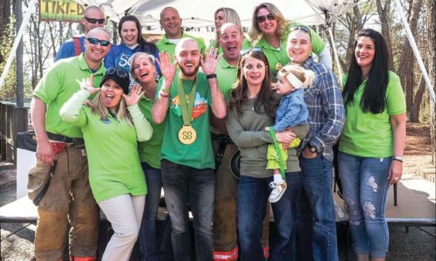 Local Volunteers Go Bald to Support Childhood Cancer Research