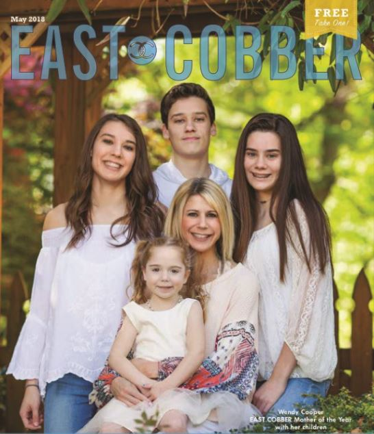 Look Who's on the Cover! Wendy Cooper, EAST COBBER's 2018 Mother of the Year