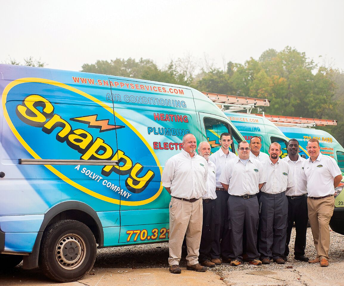 CUSTOMERS CAN TRUST SNAPPY ELECTRIC, PLUMBING, HEATING & AIR 1