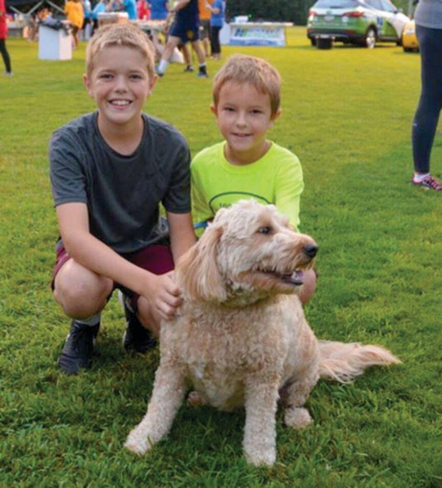 LOCAL ROTARY CLUB'S DOG DAYS RUN CELEBRATES A DECADE PLUS ONE! 2