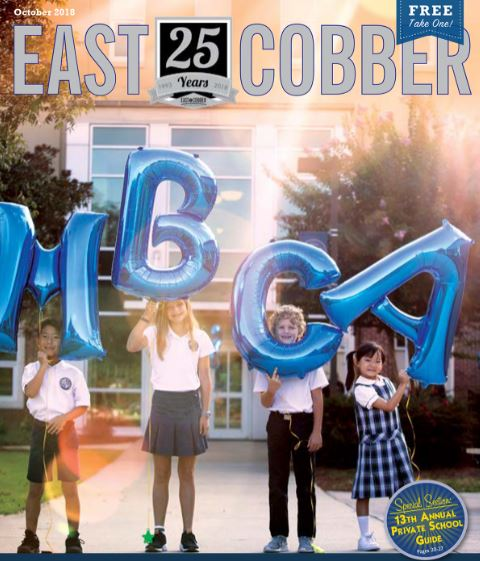 Look Who's on the Cover! It's Mt. Bethel Christian Academy!