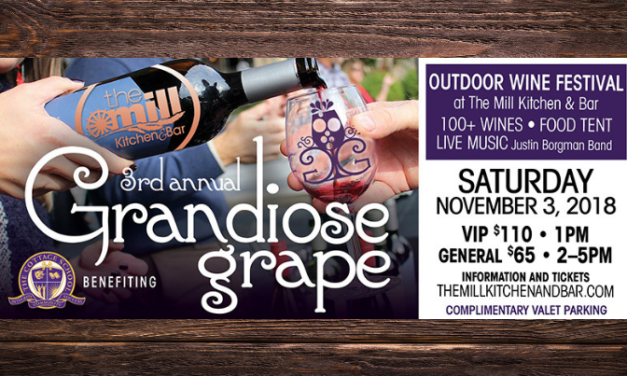 *Facebook Friday Freebie!  Win 2 Tickets to the Grandiose Grape Wine Festival!