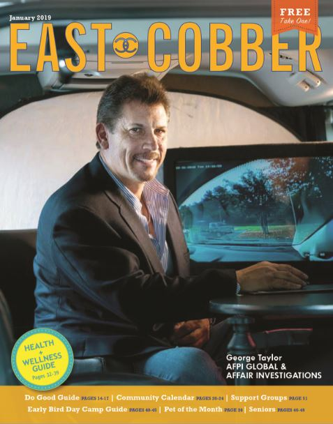 Look Who's on the Cover! George Taylor, President and Founder of AFPI Global & Affair Investigations
