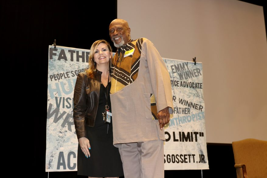 Acting Legend Louis Gossett Jr. Delivers Message of Unity to Students at East Cobb Middle School