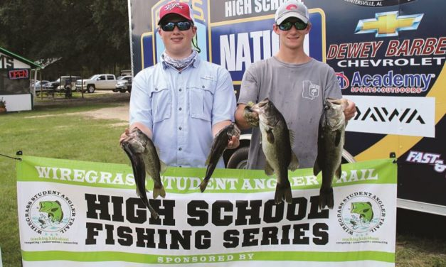 BASS FISHING CATCHING ON IN LOCAL SCHOOLS